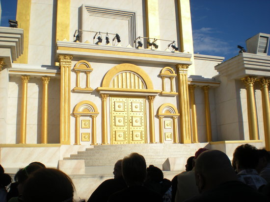 Holy Land Experience: The Temple Square (performance area)