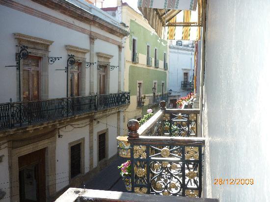 Hosteria Del Frayle: Mi balcon de la habitacion