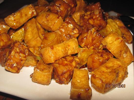บูนาเกนชาช่าเนเจอร์รีสอร์ท: tempe tofu