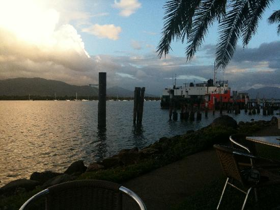 Hilton Cairns: view from Cafe Mondo