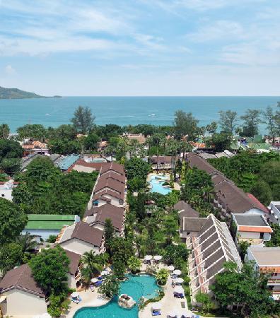Thara Patong Beach Resort Spa Top View Front