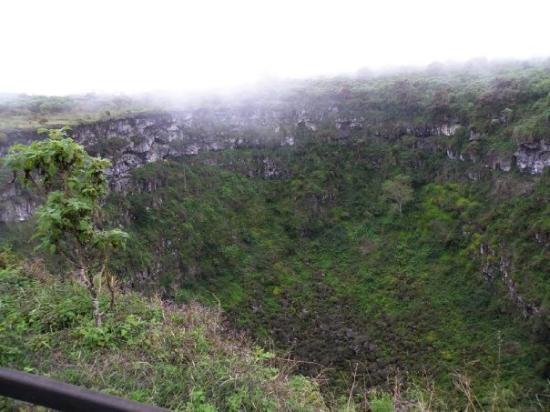 Santa Cruz, Ecuador: Los Gemelos (sp?) the 'Twins' - sinkholes.