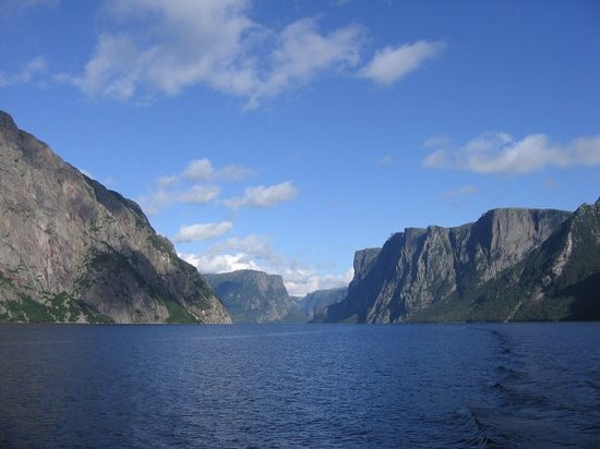 Gros Morne National Park, Canada: Fjord Western Brook Gros Morne