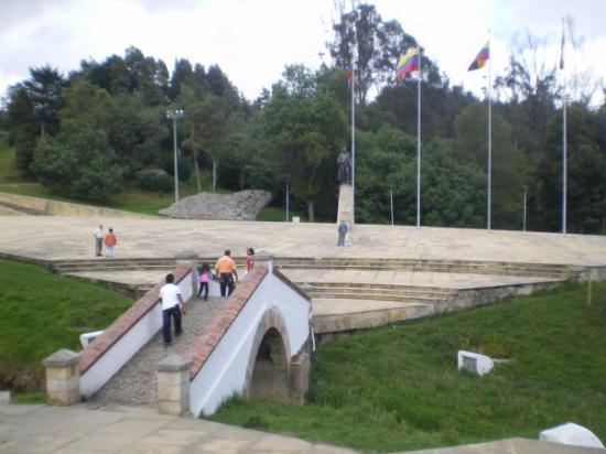 Boyaca, Colombia: Puente de Boyacá- Tunja