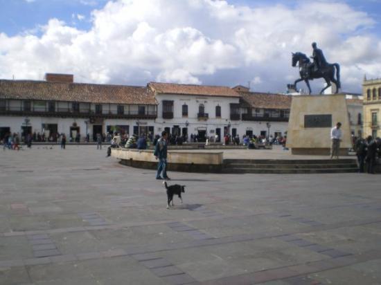Boyaca, Colombia: Plaza de Bolivar - Tunja