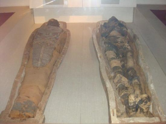 Ancient egyptian mummies picture of the manchester for Muralisme mexicain