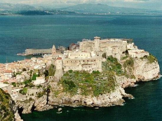 Gaeta castle view