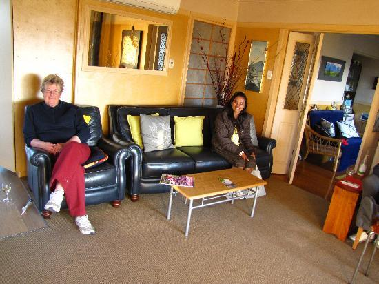 Collinson's Cottage : with the ever smiling Susanne