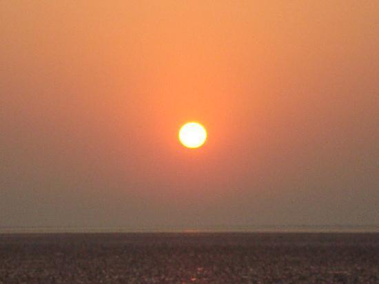 Chandipur, India: sunrise