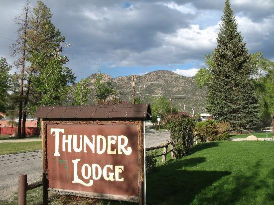 Thunder Lodge: Nice view!