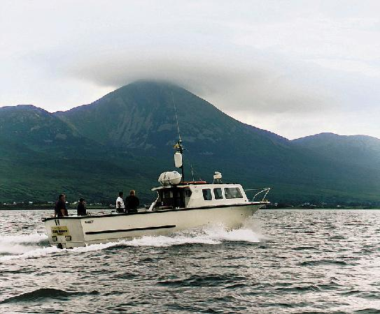 The Helm Restaurant: HELM FISHING BOAT