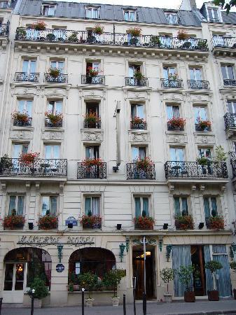 Ingresso Hotel Minerve Picture Of Minerve Hotel Paris