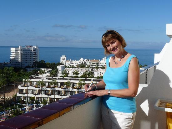 Iberostar Las Dalias : Notre balcon 9ème étage