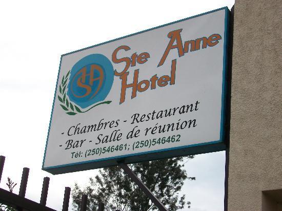 Sainte Anne Hotel: Phone numbers