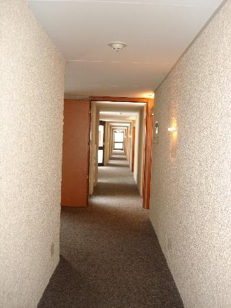 Hotel Central Residence : Light corridors