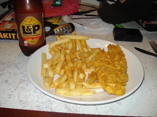 Westshore fish cafe napier restaurant reviews phone for Wave fish and chips