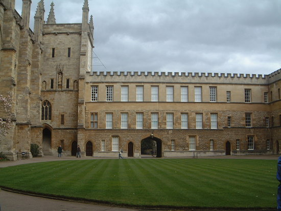Experience Oxfordshire - Oxford Official Walking Tours: College Quod