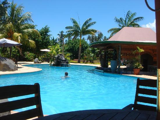 Amoa Resort: Gartenpool