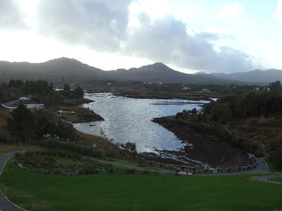 Sneem Hotel: View from the room
