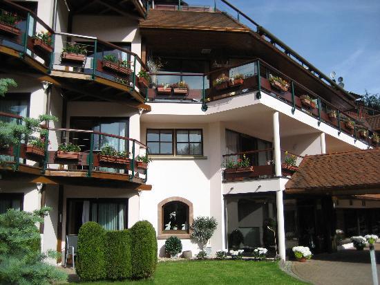 Hotel Julien : L'hôtel fleuri au printemps