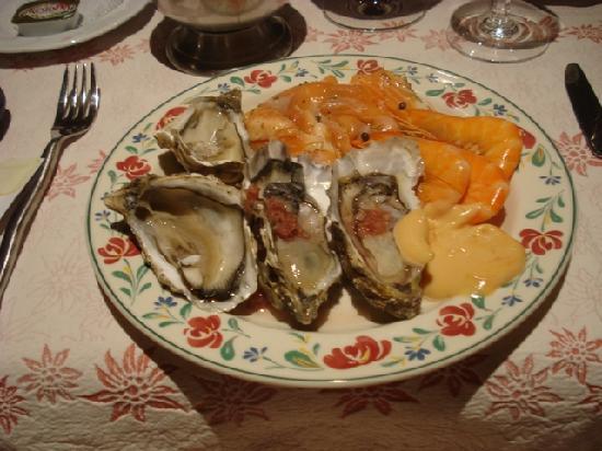 Hotel Neige Et Roc : Fruits de Mer hors d'ouevre