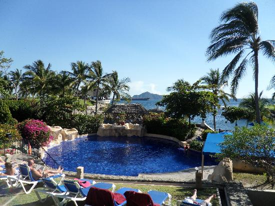 Barcelo Karmina: one of the many pools - this one overlooks the ocean