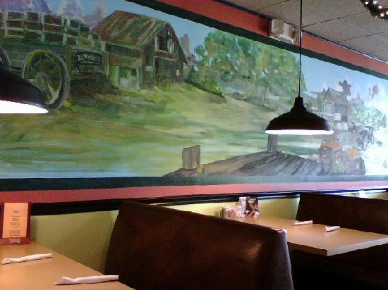 Enchiladas Mexican Restaurant : Inside Enchilada's restaurant