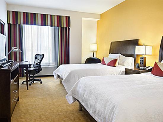 Hilton Garden Inn Phoenix Airport North: Double Queen bedded room
