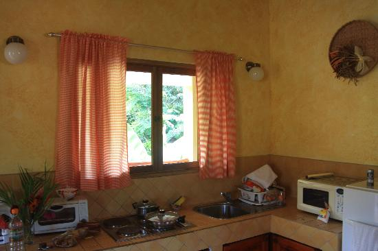 Villas Pepitas: full kitchen for those who like to cook, there is a grill too!