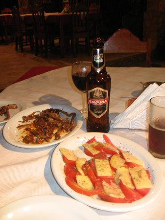 Al Manglar Bar & Pizzeria: I forget the name of the dish but it was amazing!