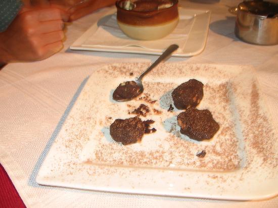 Al Manglar Bar & Pizzeria: yummy dessert