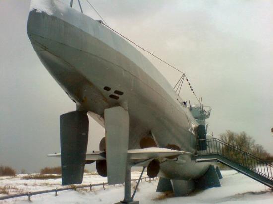U-Boot U 995: karakteristična 2 kormila