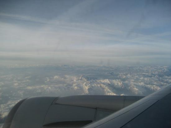 The Alps From The Airplane To Milan Pre Forte De Marmi
