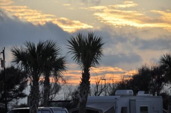 Sunset Over The Gulf Of Mexico Picture Of Grand Isle