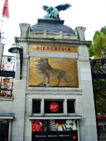 Antwerp Zoo (Dierentuin) : Antwerpen - Zoo, we were just at the entrance :D
