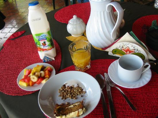 Posada Mimosa: My breakfast-YUMMERS