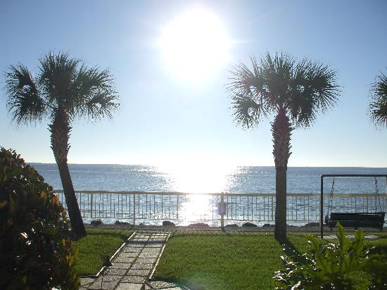 The King and Prince Beach and Golf Resort: The view outside the patio door