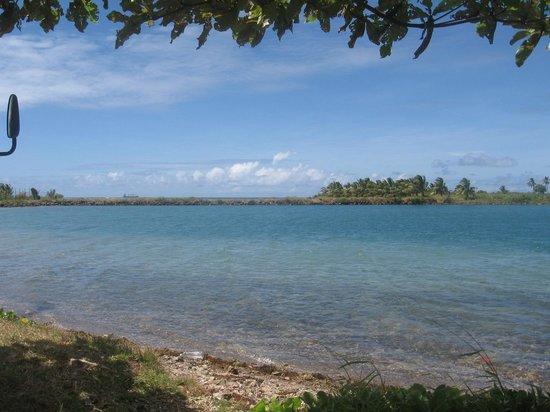 Taumesina Hideaway: Tau Measina Lagoon