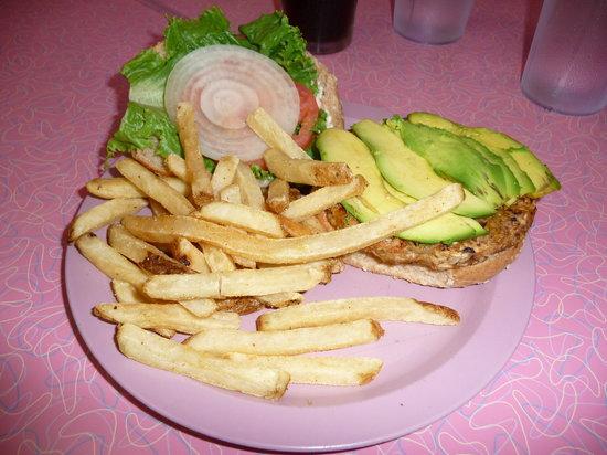 Peggy Sue's: The Veggie Burger