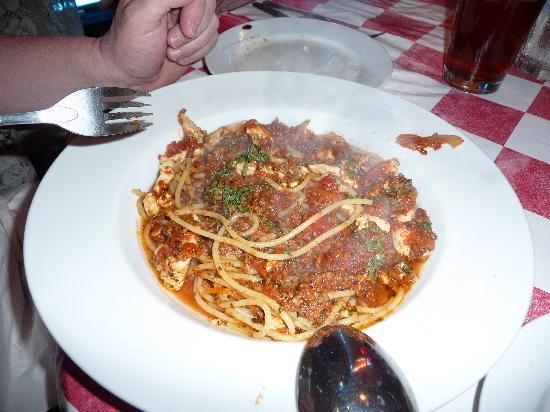 Antonio's : Pasta Bolognese