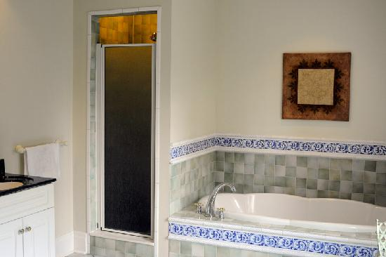 Three Forty Gate Bed and Breakfast: Tub/Shower