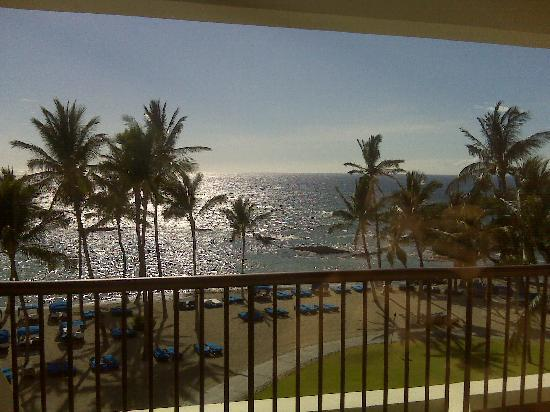 Mauna Lani Bay Hotel & Bungalows: view from our room