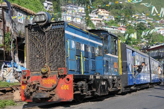 Snow Lion HomeStay: Toy train to Darjeeling
