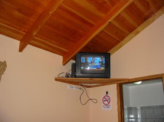 Hotel Mango Valley: You're not so remote that you can't have internet and t.v. :)