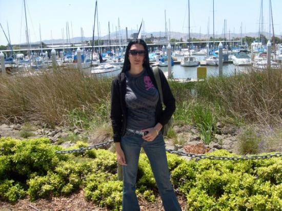 At the marina in Antioch, California