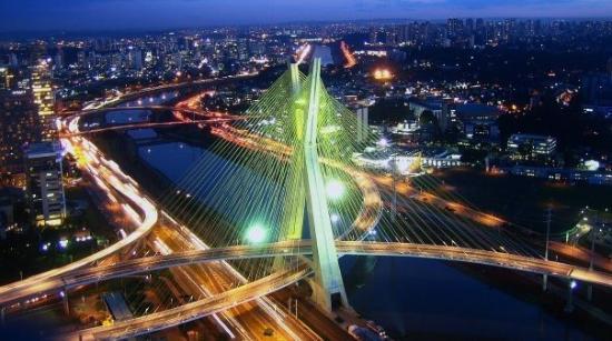 Sao Paulo, SP: Ponte da Agua Espraiada