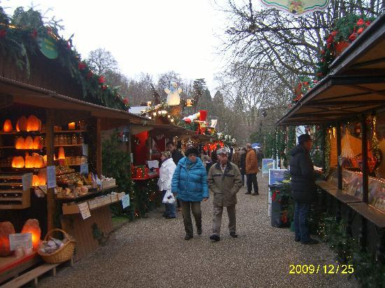 Kehl, Alemania: Christmas market at Baden Baden
