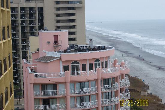 The Caravelle Resort: Side view from the 12th floor