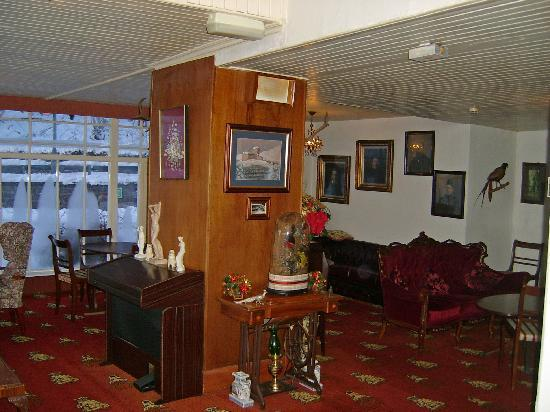 Garve, UK: One of the lounges