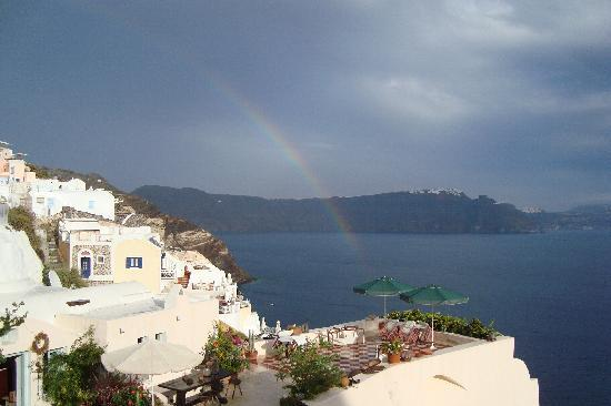 Ifestio Villas: Rainbow, from the balcony